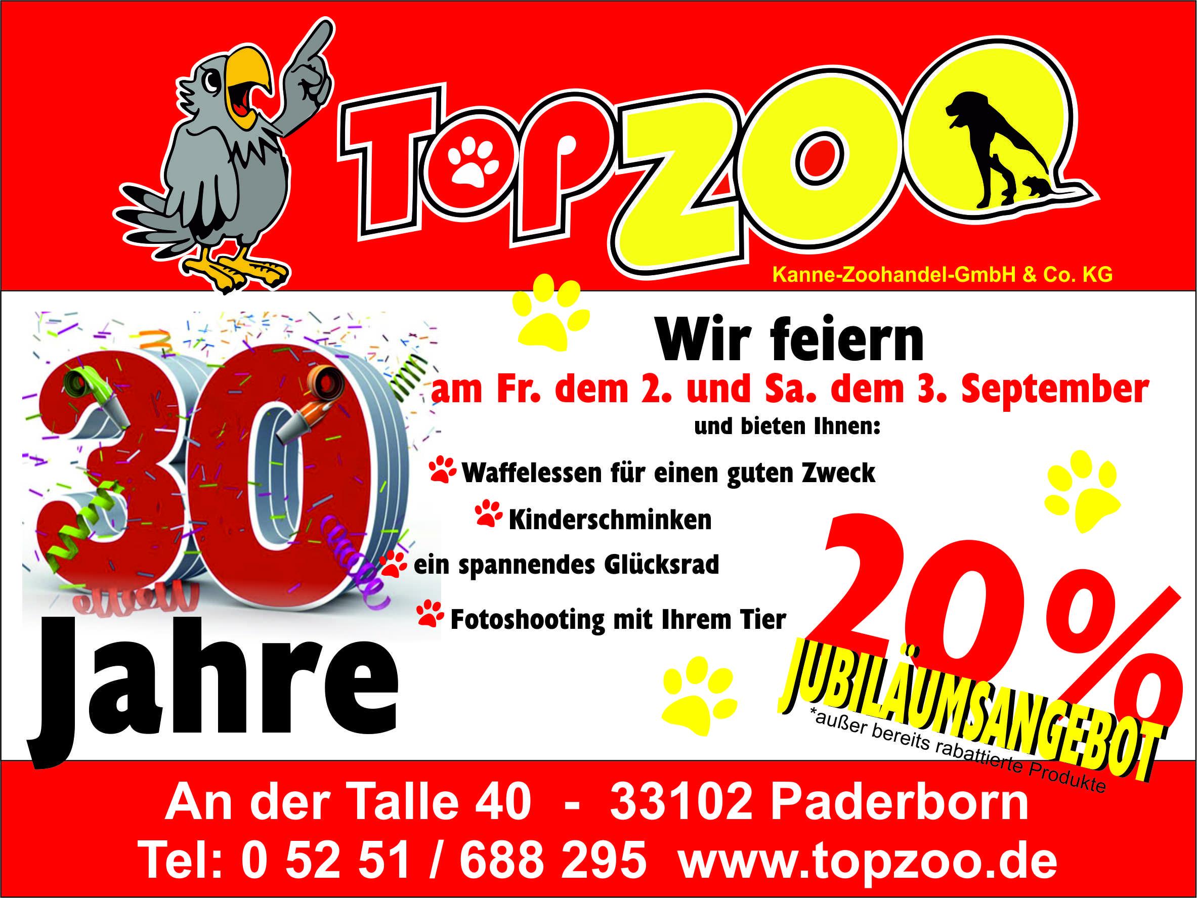 Über 30 Jahre TopZoo